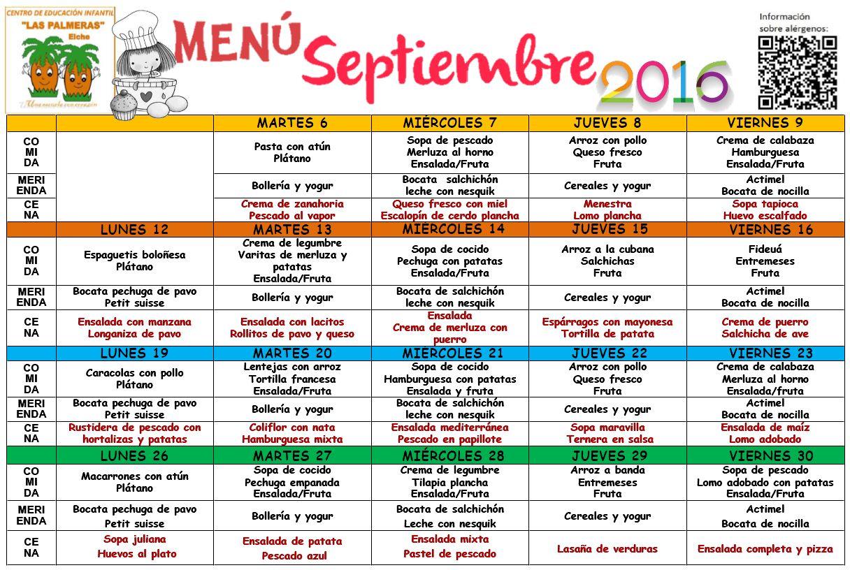 men septiembre 2016 escuela infantil las palmeras centro